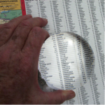Crystal View Magnifier 3.5 Inch