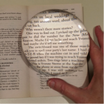 Crystal View Magnifier 4.5 Inch